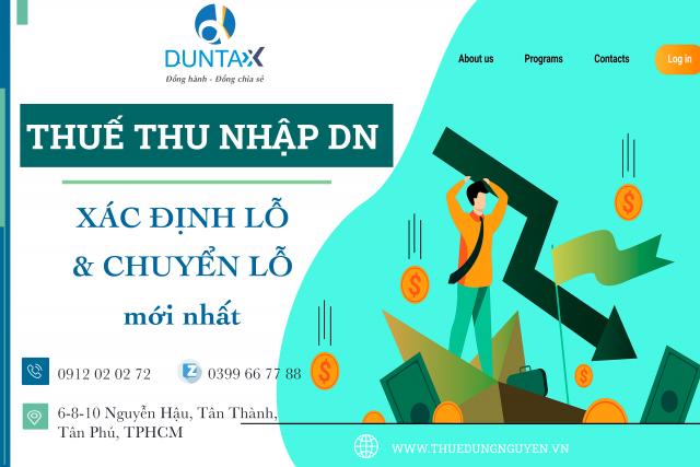 Quy định chuyển lỗ khi tính thuế TNDN mới nhất